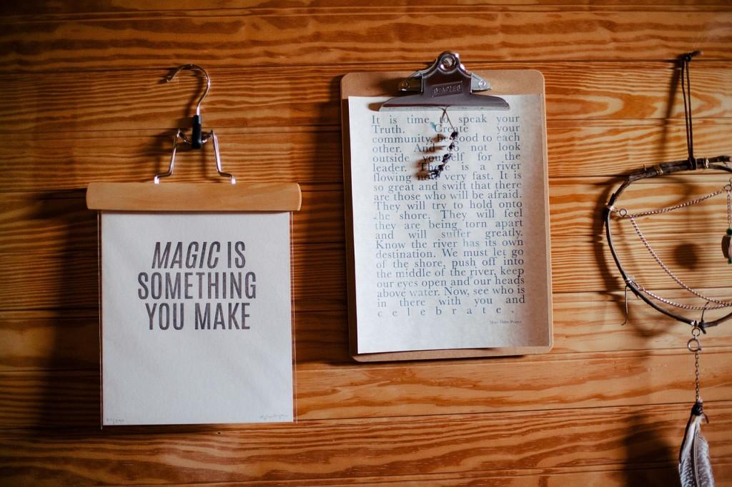 No somos magos, somos simplemente gestores