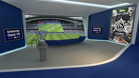 Barça Madrid VR Realidad Virtual