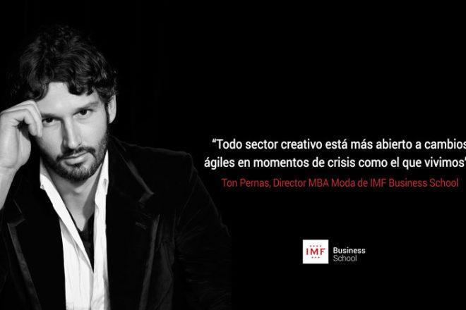 Entrevista Ton Pernas, Director MBA Moda