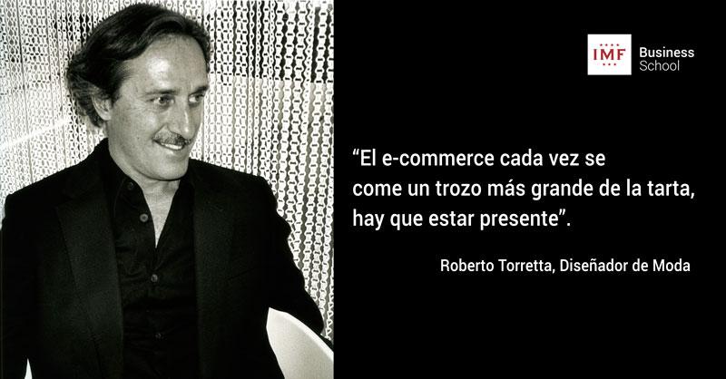 Entrevista a Roberto Torretta en IMF Business School. Moda