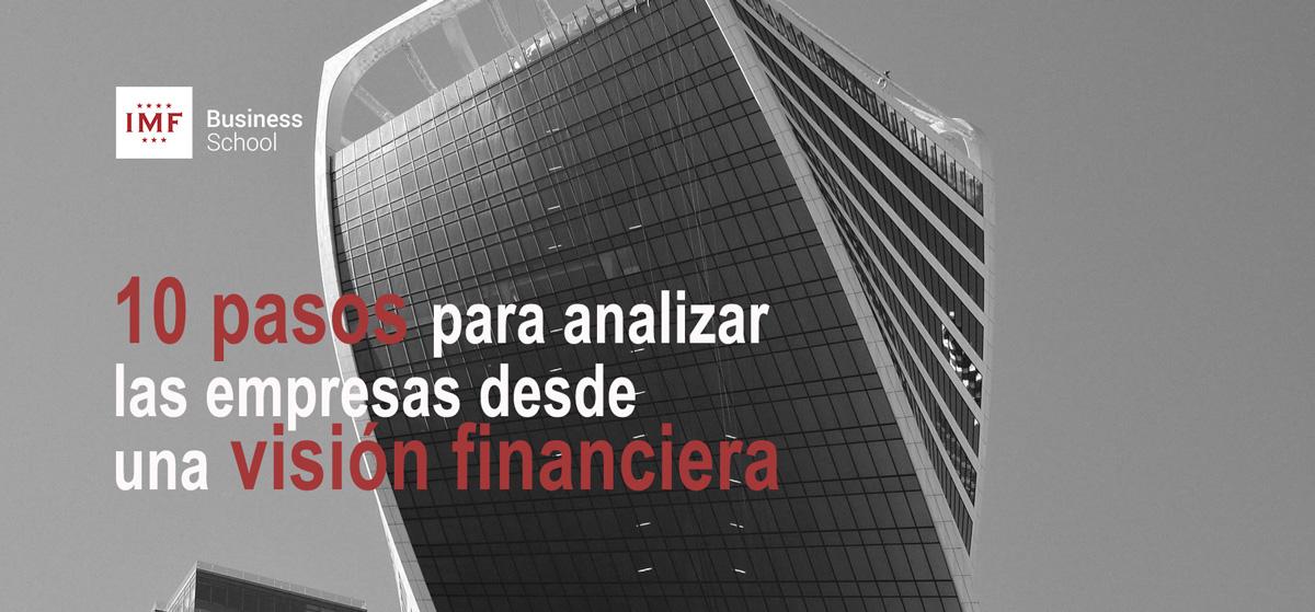 Analizar visión finanzas empresas