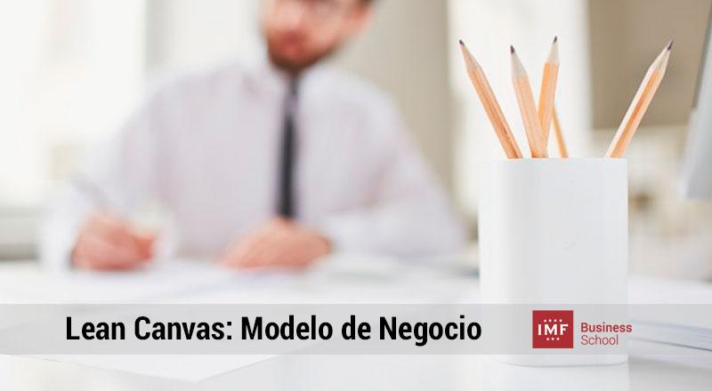 lean canvas modelo de negocios