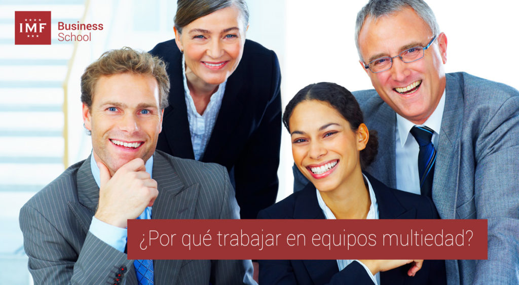 Ventajas de trabajar con equipos multiedad en las empresas