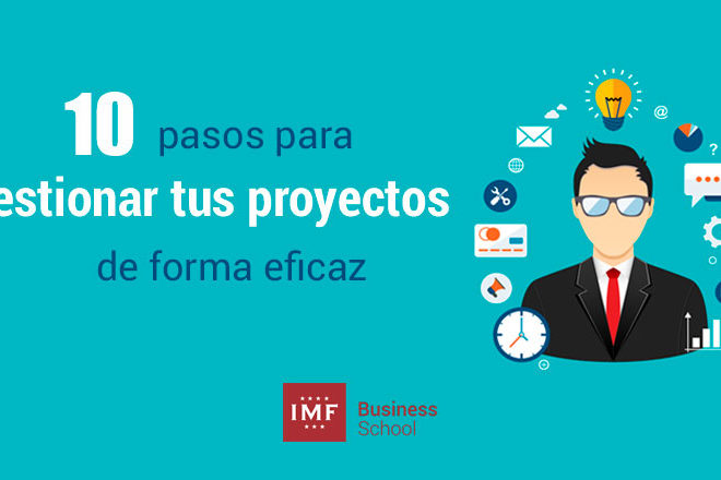 10 pasos para gestionar proyectos profesionales y personales