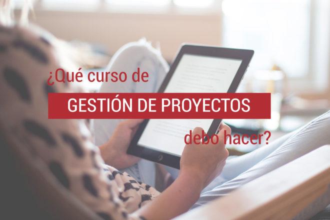 cursos de gestion de proyectos