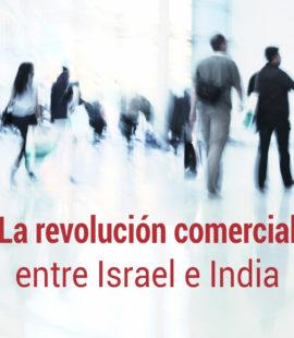 la actividad comercial entre israel e india
