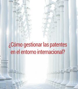 Patentes entorno internacional