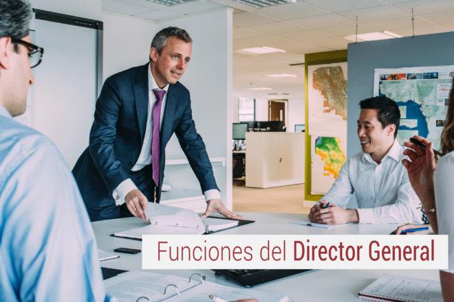 funciones del director general de una empresa