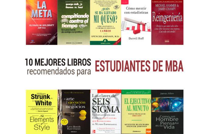 libros recomendados para estudiantes de mba