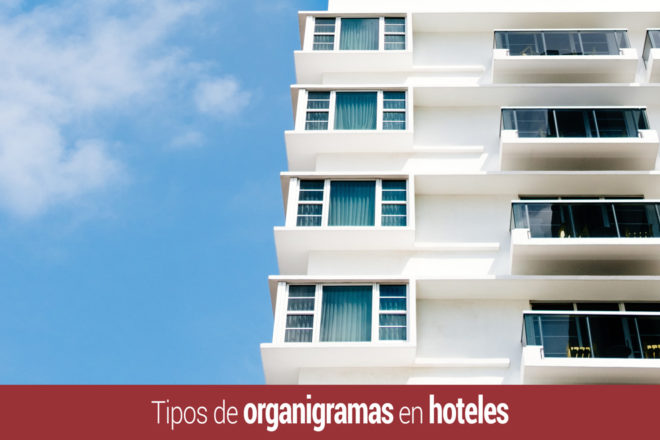 Tipos de organigramas de hoteles