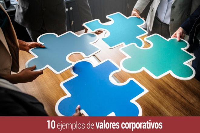 que son los valores corporativos