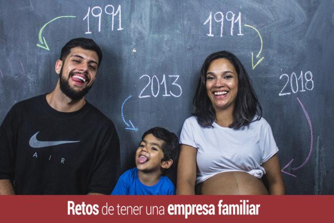 los principales retos de tener y gestionar una empresa familiar