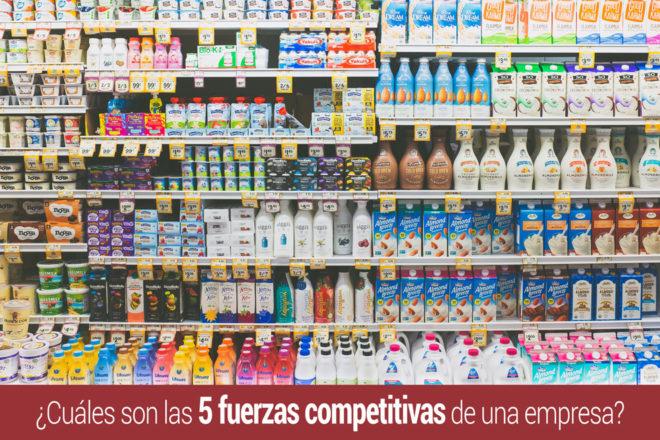 Las 5 fuerzas competitivas de la empresa?