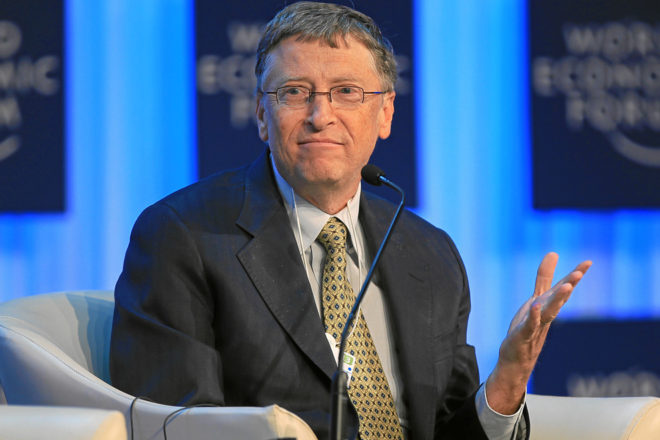 Lidetazgo empresarial: Bill Gates