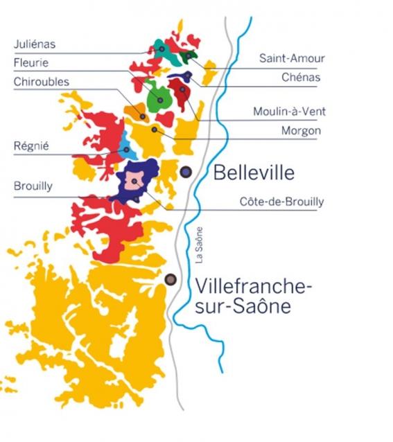 mapa ferias del vino