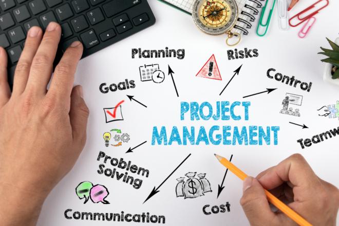 funciones, herramientas en gestión de proyectos